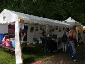 Infostand Folkfestival